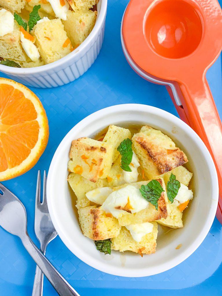 Orange Cinnamon Roll Cake Recipe (Keto, Low Carb) | #keto #lowcarb #glutenfree | mincerepublic.com