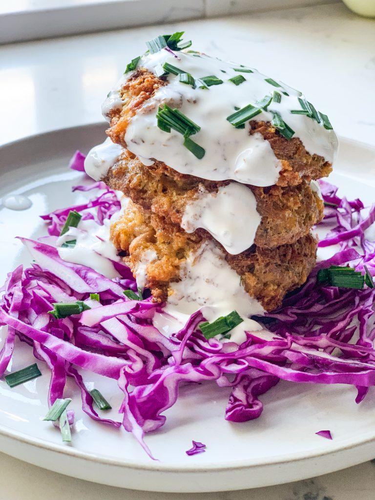 Crispy Tuna Cakes | #keto #lowcarb | mincerepublic.com