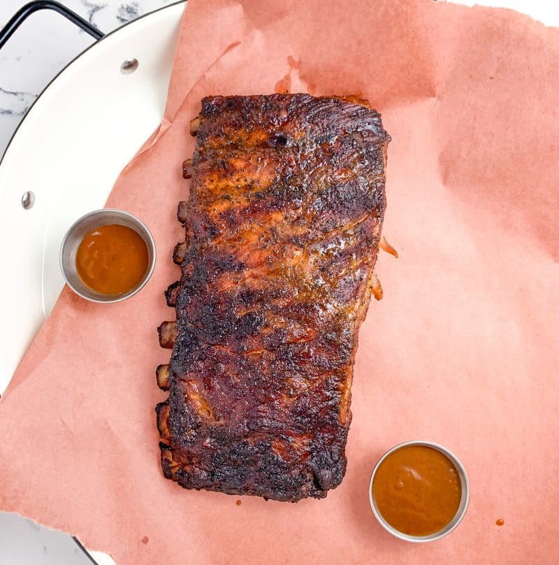 Easy Smoked St Louis Style Ribs | mincerepublic.com