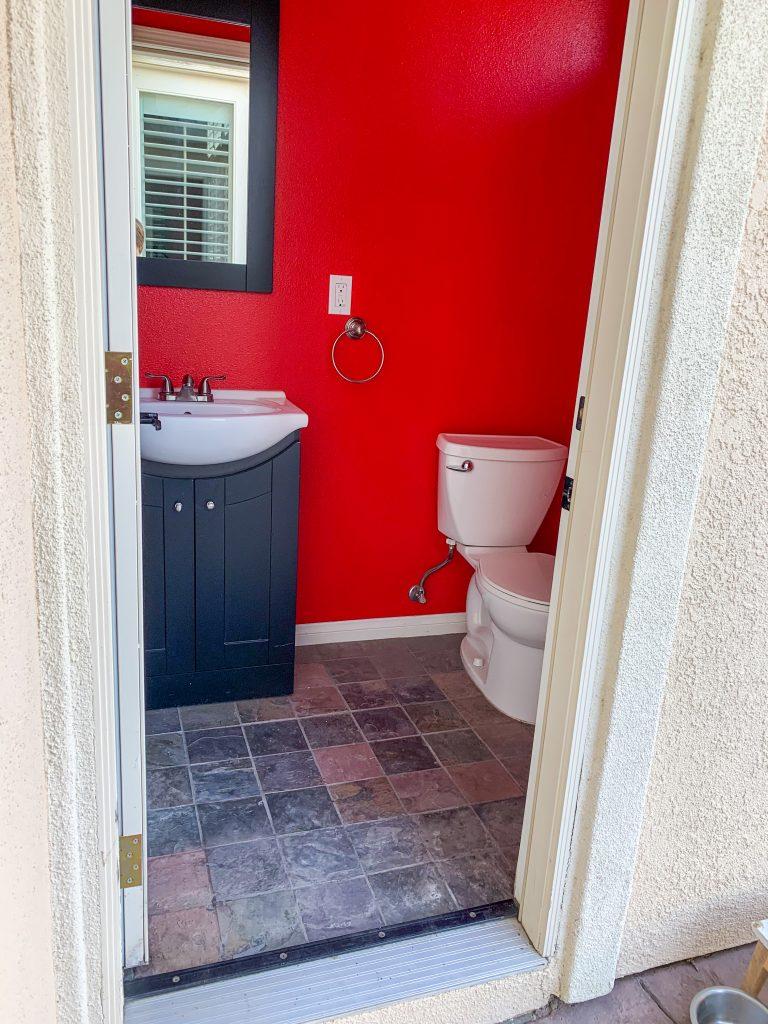 Pool Bathroom Renovation: One Room Challenge - Week 1 The Plans | mincerepublic.com