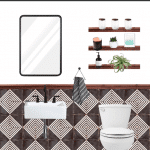 Pool Bathroom Renovation: One Room Challenge – Week 1 The Plans