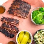 Easy Smoked St Louis Style Ribs