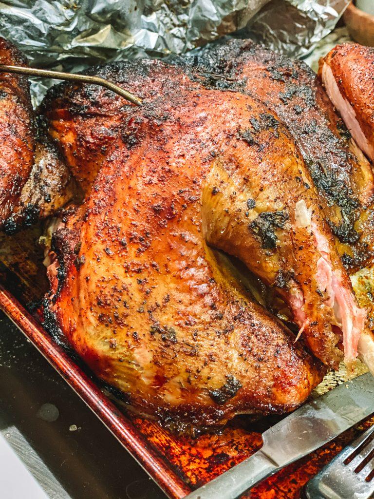 spatchcock turkey leg