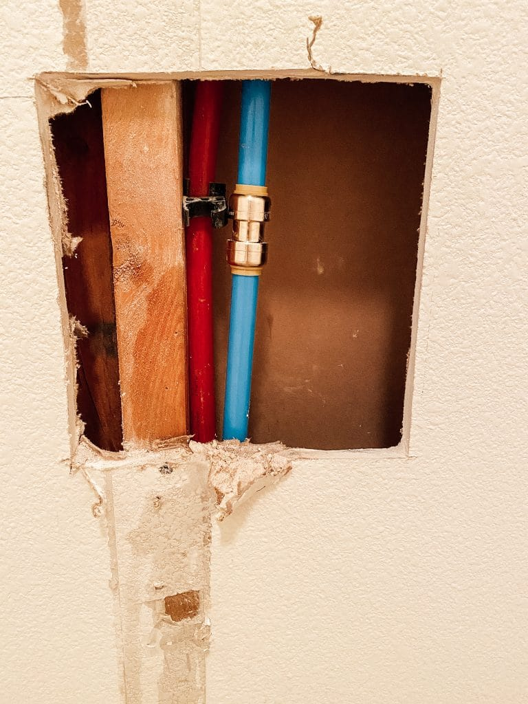 a fixed water line