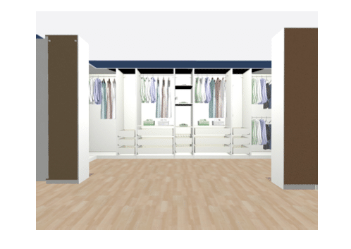 new closet design render